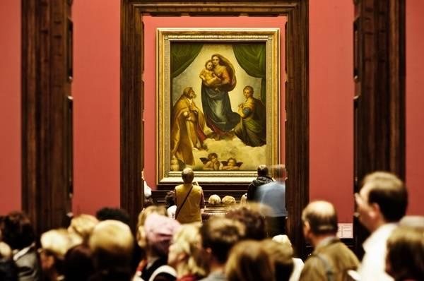 La Madonna Sistina di Raffaello, capolavoro Rinascimento compie 500 anni (Foto: Staatliche Kunstsammlungen Dresden/J.Los